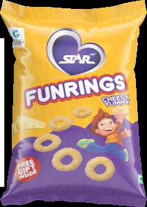 Funrings Cheesy Yummy