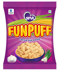 Funpuff Cream and Onion