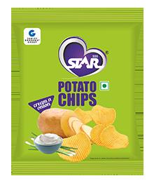 Potato Chips Cream & Onion