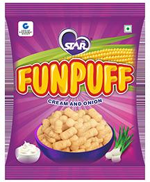 Funpuff Cream and Onion