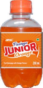 Junior Fizzinga Orange